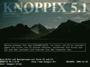 knoppix-boot