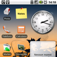 Come fare degli screenshot sull'HTC Magic con android