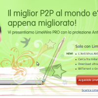 Dopo emule e torrent arriva LimeWire! L'unica vera alternativa