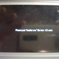 "Please put ""loader xxx"" file into SD card. Problema NDS che non parte"